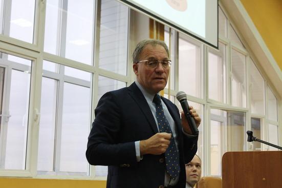 Франк В. Альтмёллер в ВГУ