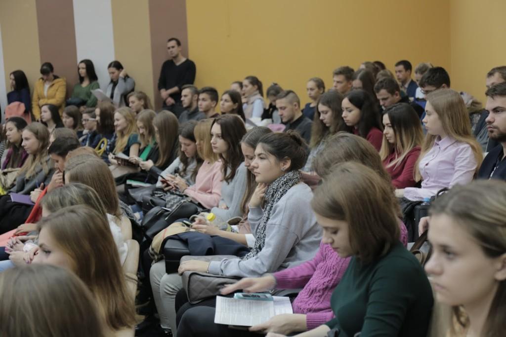 Открытая лекция на юридическом факультете ВГУ