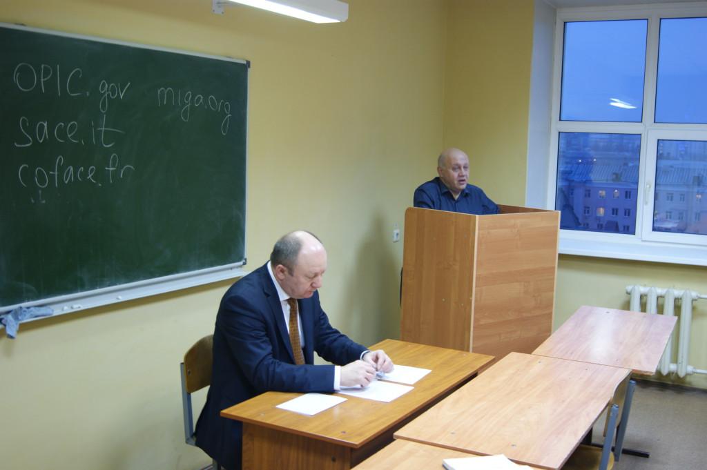 Ю.Н. Старилов и П.Н. Бирюков